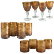Artland Shimmer 12-pc. Beverageware Set