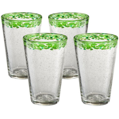 jcpenney.com | Mingle Set of 4 Glass Tumblers