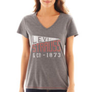 Levi's® Short-Sleeve Pennant Graphic Tee