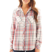 Levi's® Long-Sleeve Relaxed Plaid Western Shirt