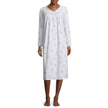 jcpenney.com | Adonna Long Sleeve Microfleece Nightgown