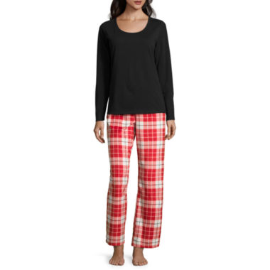 jcpenney.com | Sleep Chic Knit Pant Pajama Set