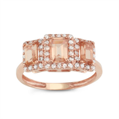 jcpenney.com | Womens 1/3 CT. T.W. Champagne Quartz 10K Gold Cocktail Ring