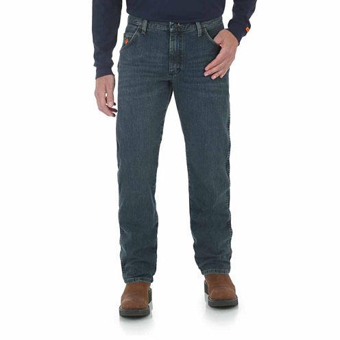 Wrangler® Fire-Resistant Advanced Comfort Regular-Fit Jeans