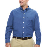 IZOD® Newport Long-Sleeve Cotton Oxford Shirt