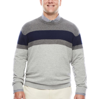 jcpenney.com | IZOD® Fieldhouse Crew Sweater
