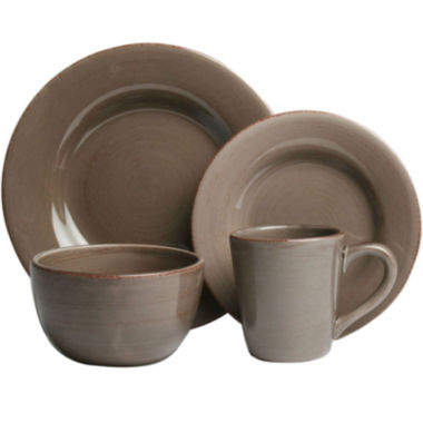 jcpenney.com | Tag® Sonoma 16-pc. Ironstone Dinnerware Set