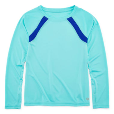 jcpenney.com | Xersion™ Long Sleeve Trainer Top - Girls 7-16 and Plus