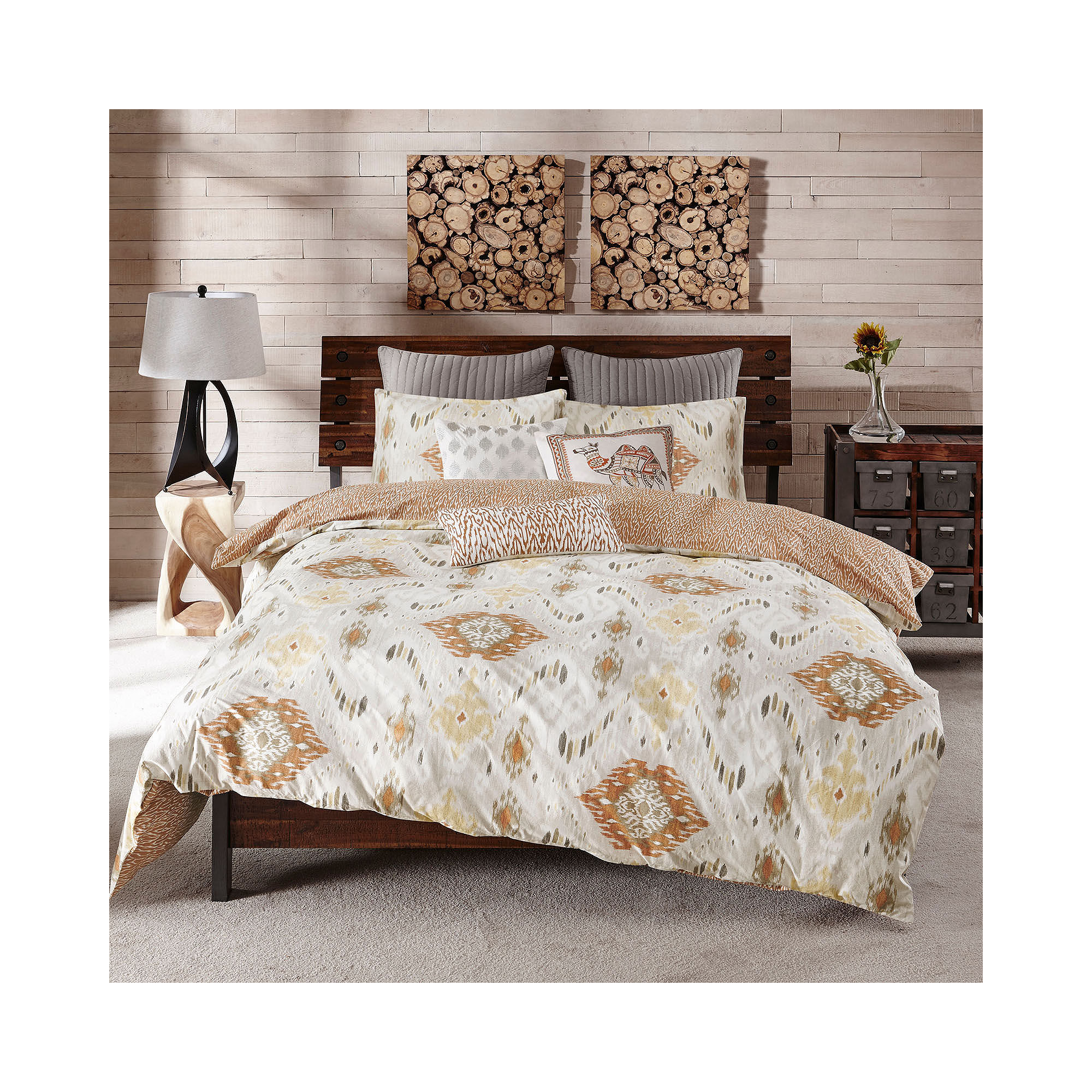 INK+IVY Nia 3-pc. Comforter Mini Set