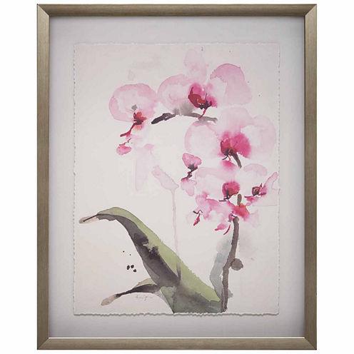 Madison Park Signature Morning Orchid 1 Frame Art