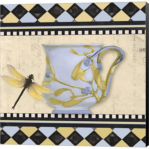 Bistro Nouveau II Gallery Wrapped Canvas Wall ArtOn Deep Stretch Bars