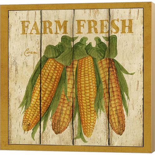 Farm Fresh Corn Gallery Wrapped Canvas Wall Art OnDeep Stretch Bars