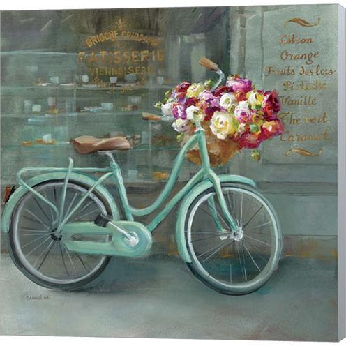 Joy Of Paris I Gallery Wrapped Canvas Wall Art OnDeep Stretch Bars