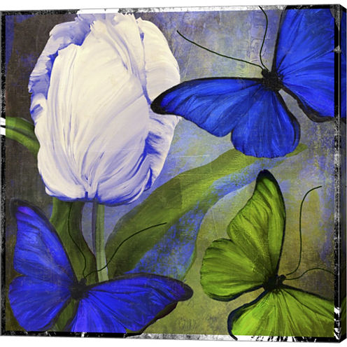Morphos One Gallery Wrapped Canvas Wall Art On Deep Stretch Bars