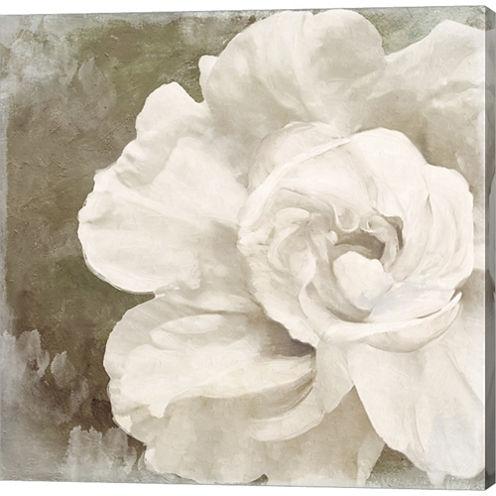 Petals Impasto II Gallery Wrapped Canvas Wall ArtOn Deep Stretch Bars