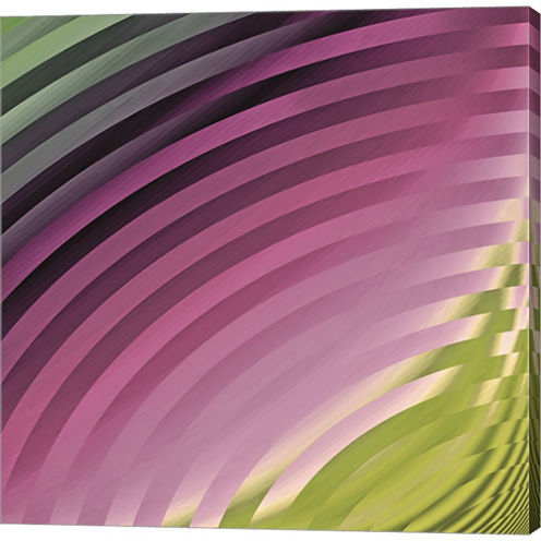 Satin II Gallery Wrapped Canvas Wall Art On Deep Stretch Bars