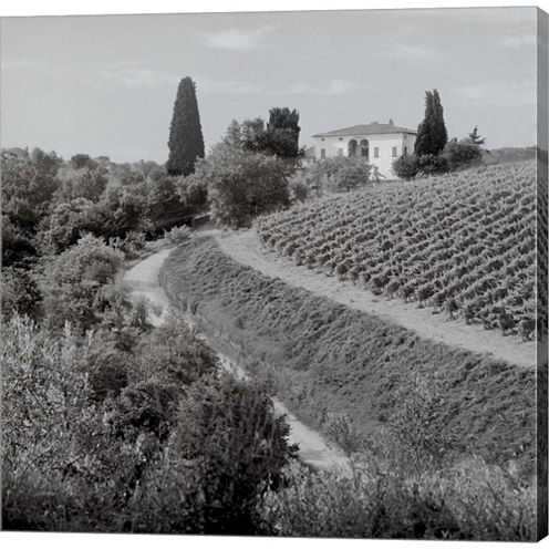Tuscany V Gallery Wrapped Canvas Wall Art On DeepStretch Bars