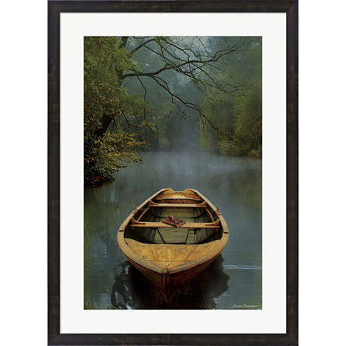 The Old Lake Framed Print Wall Art