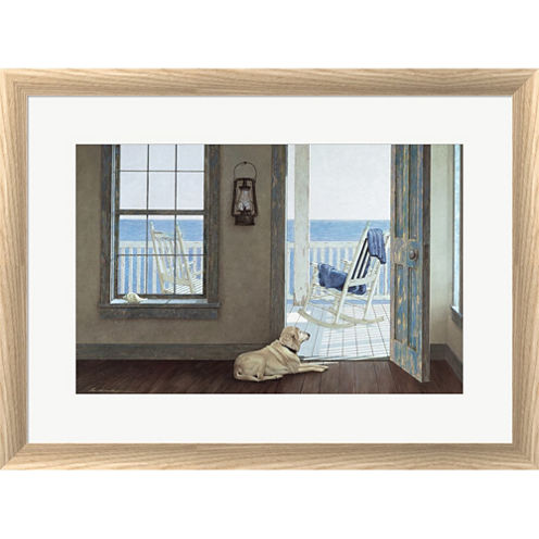 The Rocking Chair Framed Print Wall Art