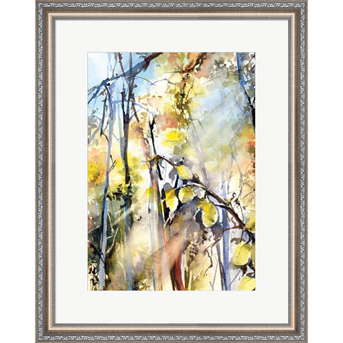 Trees II Framed Print Wall Art