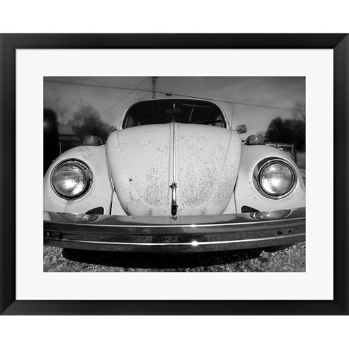 Vintage Bug Framed Print Wall Art