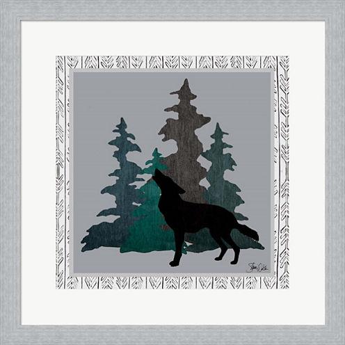 Wolf Framed Print Wall Art