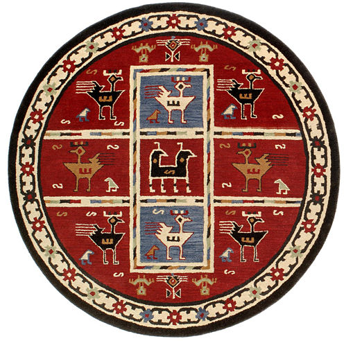 St. Croix Trading Traditions Tribal Round Rugs