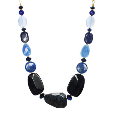 jcpenney.com | ROX by Alexa Blue Gemstone Chunky Necklace