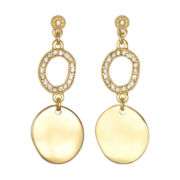 PALOMA & ELLIE Crystal Double-Drop Earrings