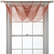 MarthaWindow™ Voile Waterfall Valance