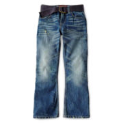 Arizona Belted Bootcut Jeans - Boys 6-18 and Husky