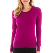 Worthington® Long-Sleeve Crewneck Sweater
