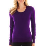 Worthington® Long-Sleeve Crewneck Sweater