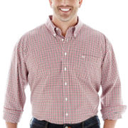 Dockers® No-Wrinkle Multi Gingham Shirt–Big & Tall