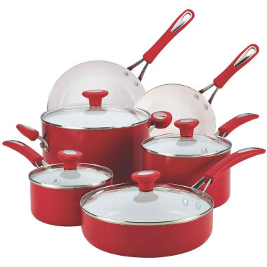 jcpenney.com | SilverStone® Ceramic CXi 12-pc. Nonstick Cookware Set