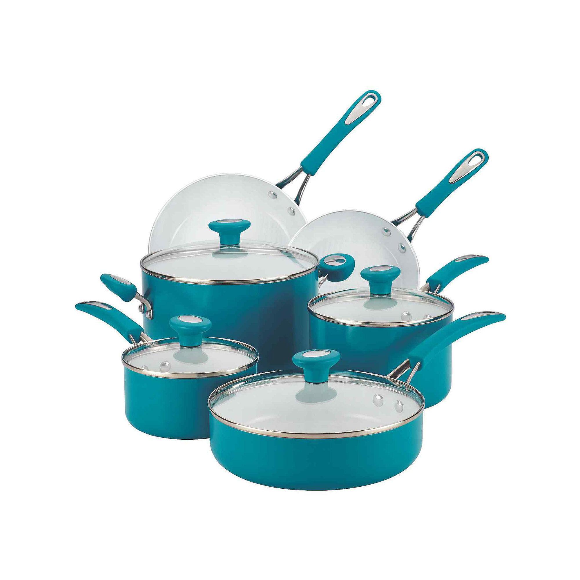 SilverStone Ceramic CXi 12-pc. Nonstick Cookware Set