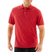 The Foundry Supply Co.™ Heathered Piqué Polo–Big & Tall
