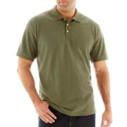 The Foundry Supply Co.™ Heathered Piqué Polo-Big & Tall