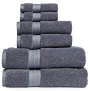 Royal Velvet® Egyptian Cotton 6-pc. Bath Towel Set