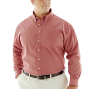 Dockers® No-Wrinkle Mini–Check Shirt–Big & Tall