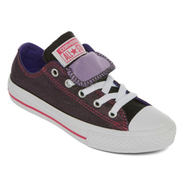 jcpenney.com | Converse® Chuck Taylor All Star Girls Double-Tongue Sneakers - Little Kids