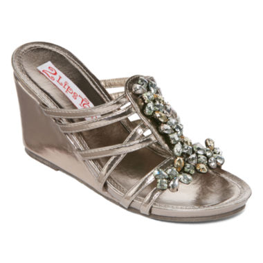jcpenney.com | Two Lips Too Siris Wedge Sandals