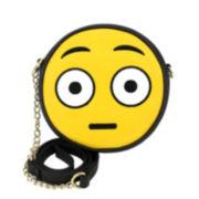 Olivia Miller Flushed Emoji Crossbody Bag