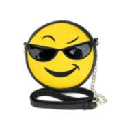 Olivia Miller Cool Emoji Crossbody Bag