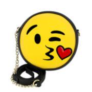 Olivia Miller Kiss Emoji Crossbody Bag