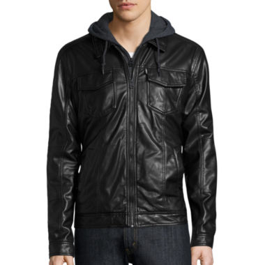 jcpenney.com | Levi's® Faux Leather Trucker Jacket