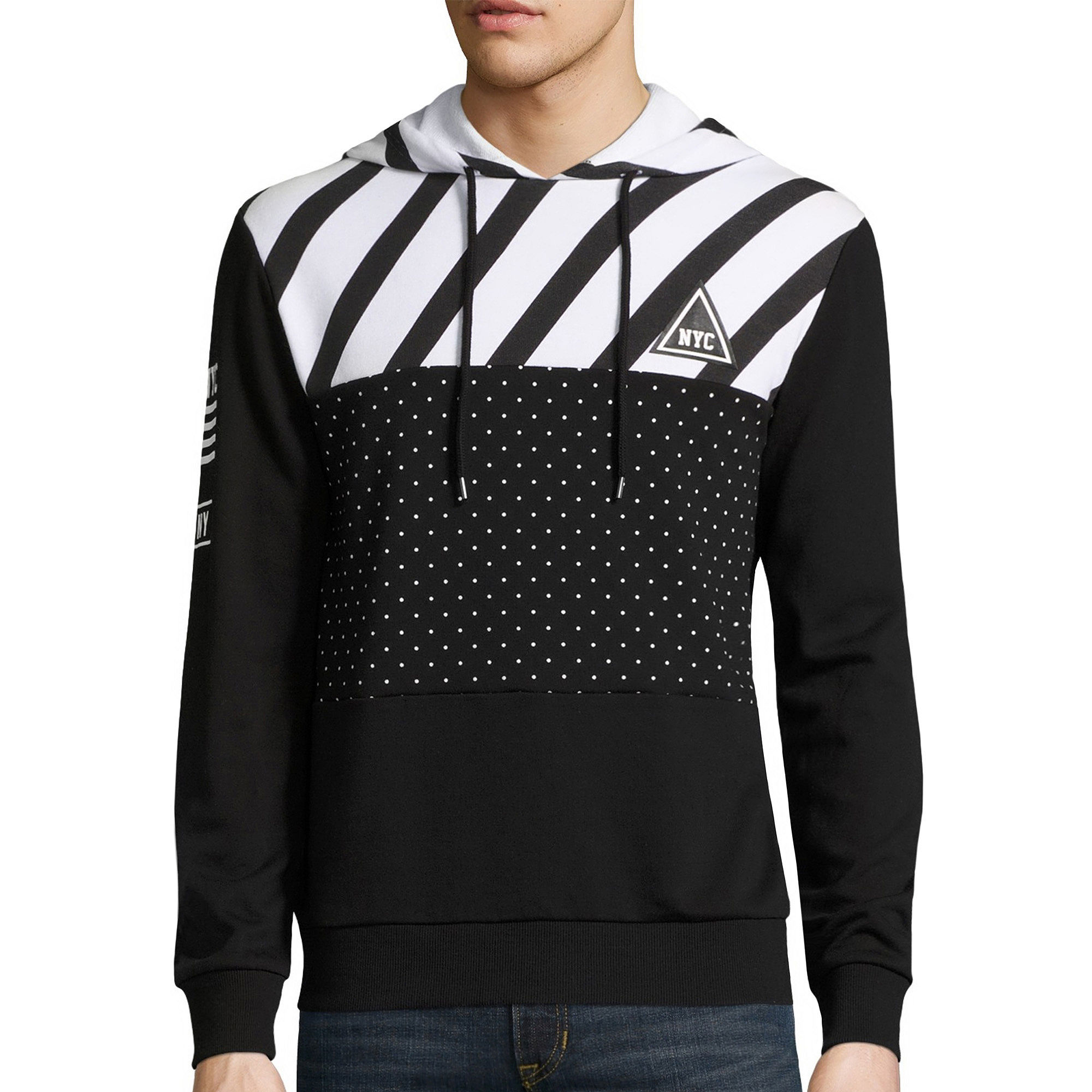 Urban Nation Long Sleeve French Terry Hoodie | Top, Sweatshirt and Clothing