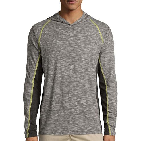 Unionbay® Long-Sleeve Tucker Raw Jersey Hoodie