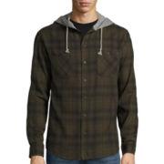 Union Bay® Long-Sleeve Sherwood Flannel Hoodie