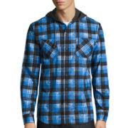 Union Bay® Long-Sleeve Hayward Flannel Hoodie